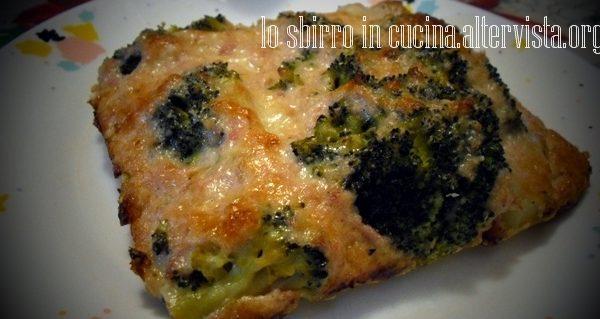Broccoli gratinati al prosciutto