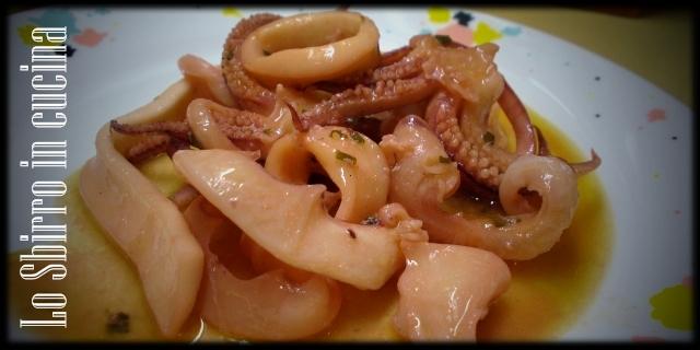 saute di calamari