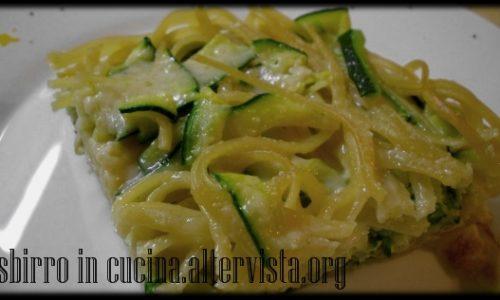 Frittata di pasta con zucchine