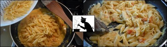 Pasta con Zucca e uova