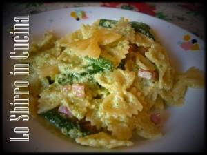 Pasta e zucchine con yogurt greco