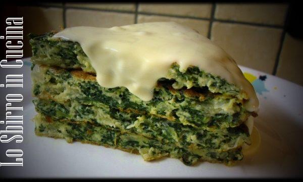 torta di Bietole con fontina