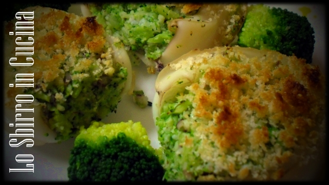 seppie gratinate broccoli