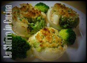seppie gratinate ai broccoli