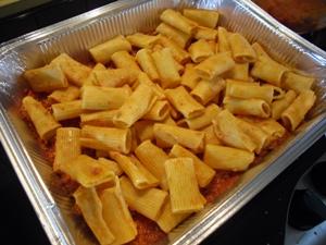 pasta al forno pasticciata