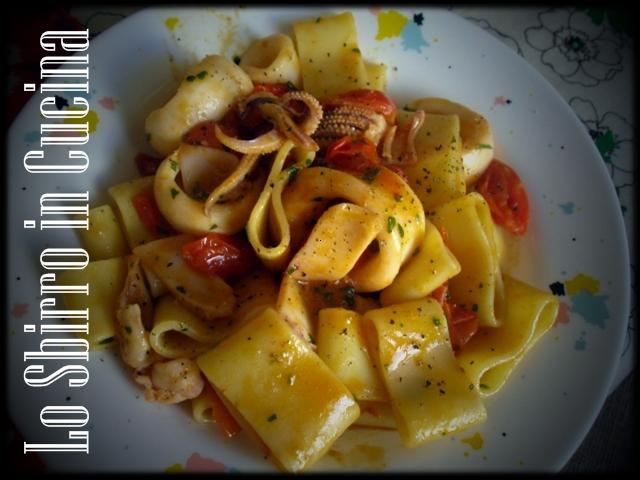 Calamarata (Pasta e Calamari) – Ricetta tipica Napoletana