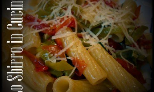 Pasta con i peperoncini verdi