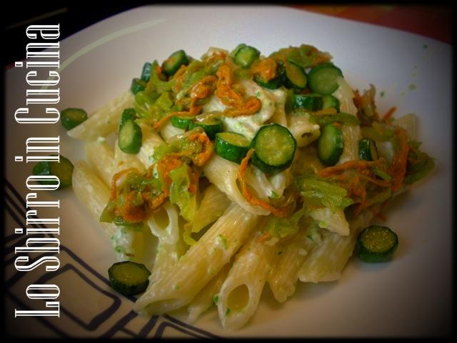 Fiori Zucchine Ricette.Penne Cremose Ai Fiori Di Zucchina Ricette Cucina Dello Sbirro