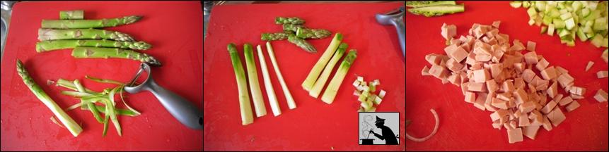 Risotto asparagi e prosciutto