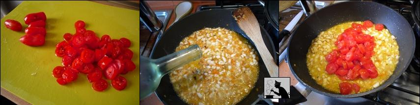 Pasta con ragù di seppie