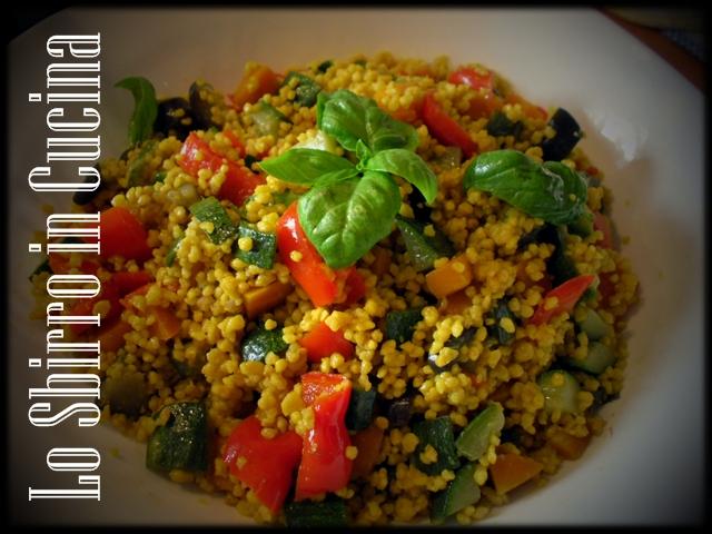 Cous cous (cuscus) alle verdure