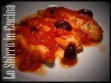 filetti di gallinella alla pizzaiola