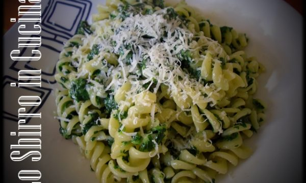 Pasta gorgonzola e spinaci