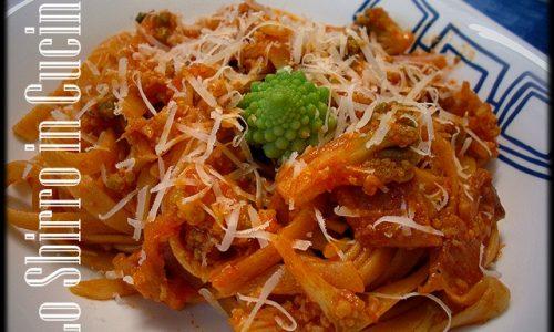 Spaghetti con Broccolo Romano