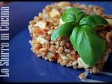 Insalata di farro con pomodori secchi