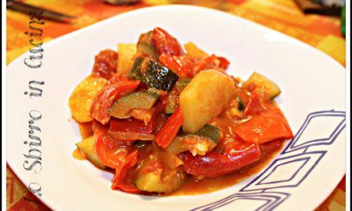Ciambotta, ricetta tipica dell'Italia meridionale